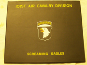 101st Air Cavalry Division Medal Document Holder