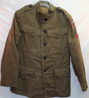 87th Division Artillery WWI Jacket