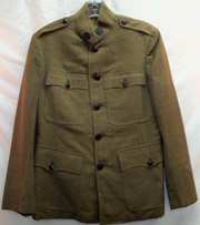 Coast Artillery Officers Quality Enlisted Jacket