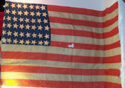 Incredible 44 Star US Flag That Has Been Modified Into A 48 Star Flag