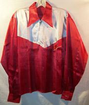 1940's-50's Western Style Silk Tour Shirt / Jacket