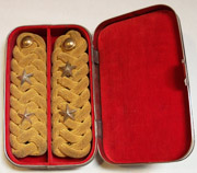 Army Boxed Japanese Officers Dress Shoulder Boards