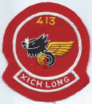 413th Transportation  Squadron Patch SVN ARVN