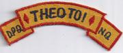 5th Division ARVN Interpretors Scroll Vietnam