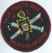 Task Force One Advisory Element Medical Section Team Patch Vietnam