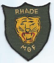Rhade Mobile Guerilla Force Pocket Patch Variant Vietnam
