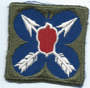 WWII 21st Corps Patch