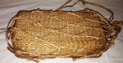 WWII Japanese Army Wicker Bento / Rice Carrier.