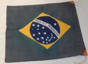 WWII 1930's Japanese Made Brazil Flag