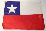 1930's Japanese Made Chile Flag