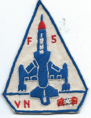 F-5 Aircraft Squadron Patch SVN ARVN