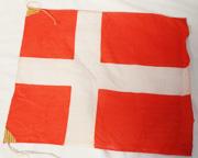 1930's Japanese Made Denmark Flag