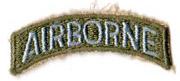 80th Division Airborne Tab