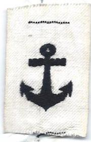 Japanese Naval Field Cap Badge
