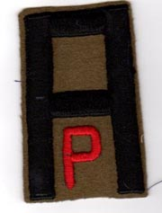 1st Army Pioneer Troops Patch