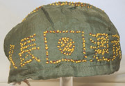 WWII Japanese Army Sennabarri / 1000 Stitch Hat