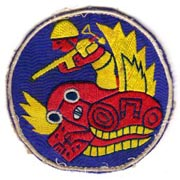 ASMIC WWII-Occupation Period Army Air Forces Aviation Engineers Patch