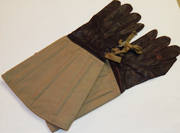 WWII Japanese Army Motorcycle Drivers Gaunlet Gloves