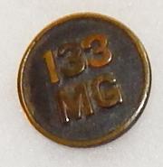 133rd Machine Gun Enlisted Collar Disc