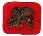 ASMIC 332nd Infantry Regiment Bullion Ambulance Service Patch