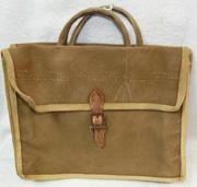 WWII Japanese Custom Made Aviation Canvas Bag