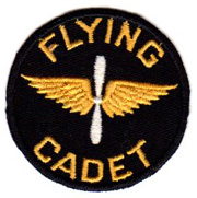 ASMIC Super Hard To Find Pre-WWII CPT Flying Cadet Patch