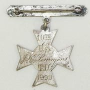 10th Cavalry Engraved Shooting Medal