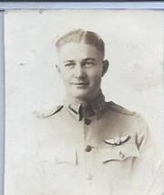 Identified Pilot Wearing Fold Down Collar Uniform Photo