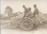 WWII Japanese Army Motorcycle & Sidecar Photo