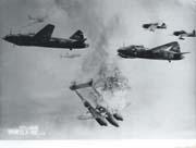 WWII Japanese Propaganda Movie Navy Pilot Photo.