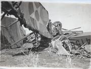 KIA Wrecked Aircraft Photo