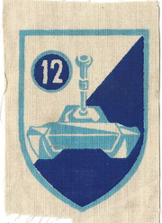 arvn 12th Armor Division Patch