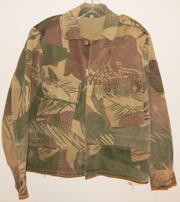 Rhodesian Army Camo Modified Combat Jacket