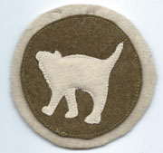 ASMIC 161st Infantry Regiment 81st Division patch