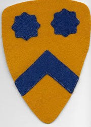 1920's-30's 2nd Cavalry Division Melton Wool Patch