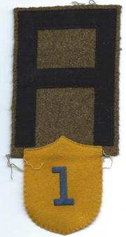 1st Army Gas Regiment Patch