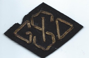 ASMIC 1st Army General Intermediate Supply Depot Bullion Patch