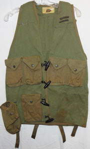 Rhodesian Army OD Green Fire Force Vest