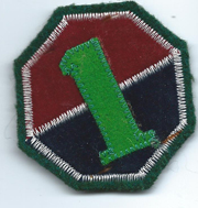 Republic Of Korea / South Korean Army 1st Army Patch