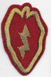 Occupation - Korean War Bullion 25th Division Patch