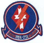 1970's US Marine Corps VMFA-251 Squadron Patch