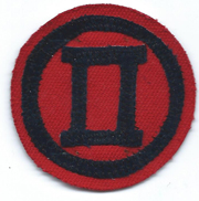 Republic Of Korea / South Korean Army 2nd Corps Patch