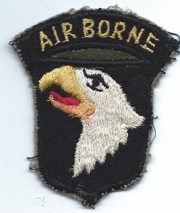 Vietnam 101st Airborne Division Patch