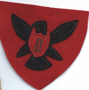 WWI 86th Division Multi-Piece Wool Patch