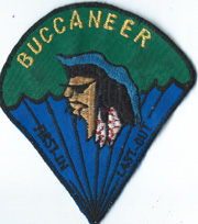 Vietnam 11th Pathfinder Detachment BUCCANEER Pocket Patch