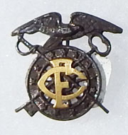1917 Proposed Field Clerk Quartermaster Collar Device