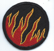 WWII 119th Ghost / Phantom Division Patch