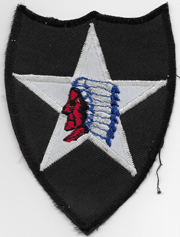 1980's 2nd Division Patch