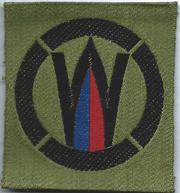 WWI 342nd Machine Gun Battalion 89th Division Liberty Loan Patch