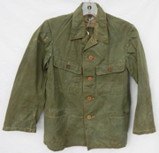 WWII Japanese Imperial Navy Late War Green Tunic